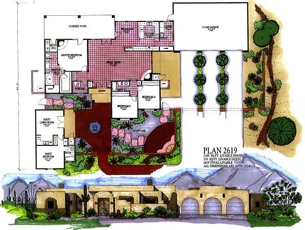 Arizona House Plans-Southwestern Architecture and Design